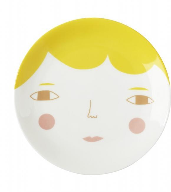 goldie plate 21 cm