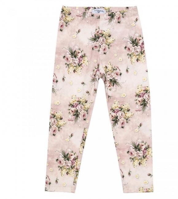 leggings bouquet prints