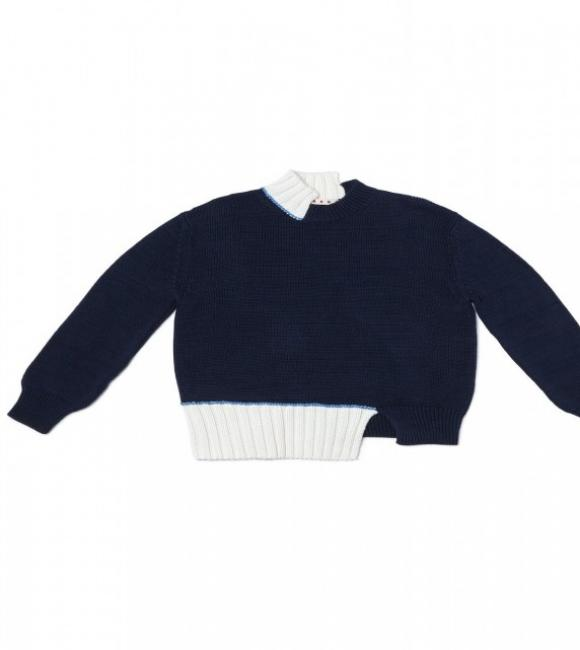 marni asymmetrica sweater