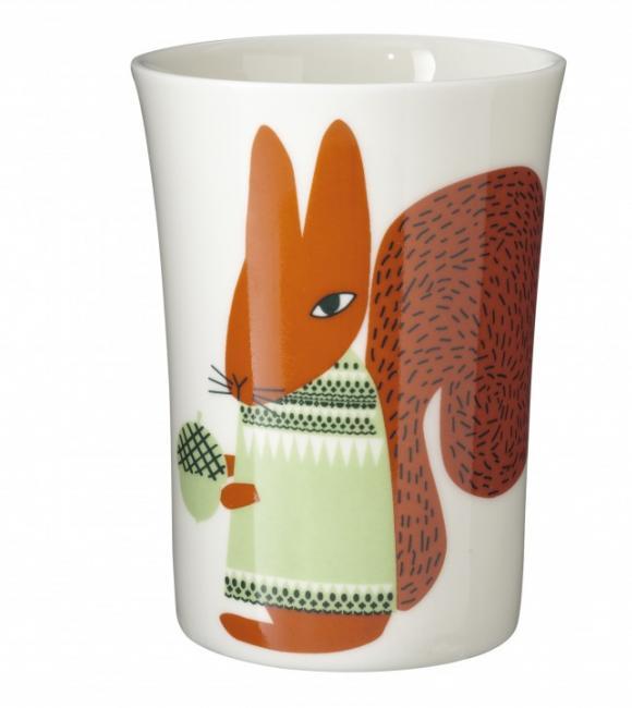 squirrel beaker