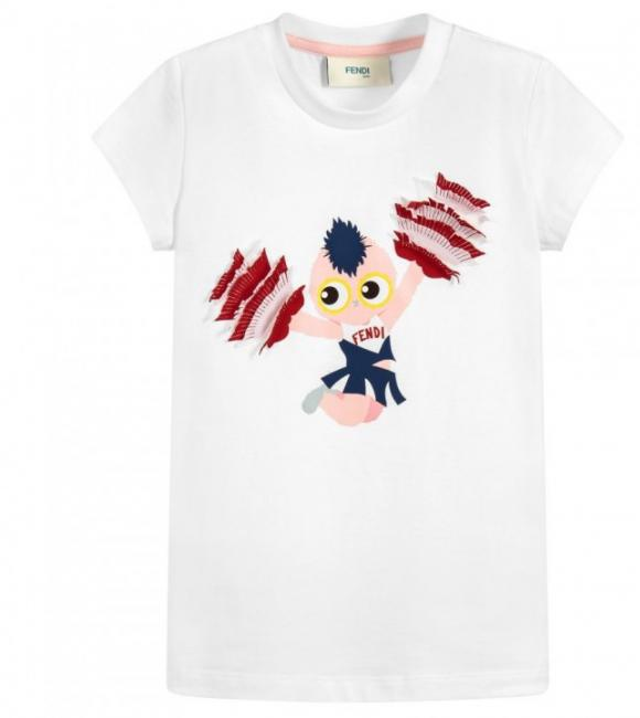 t-shirt cheer fendi