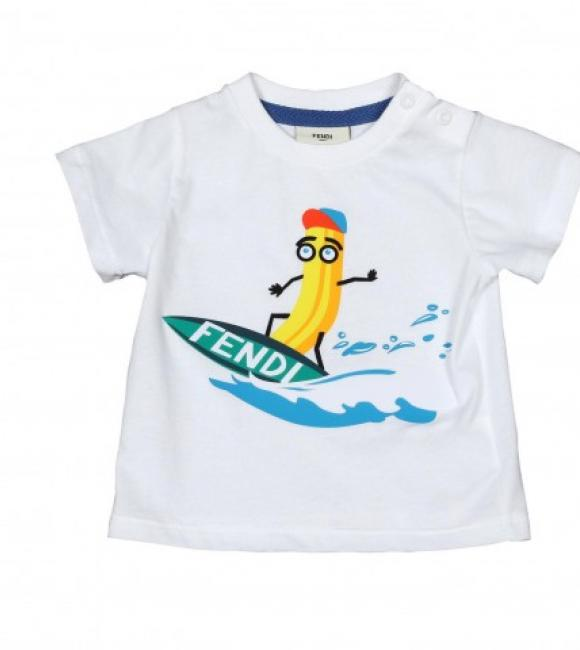 t-shirt in jersey banana