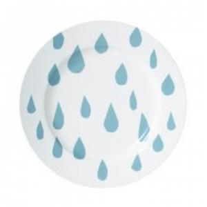27cm raindrop dinner plate