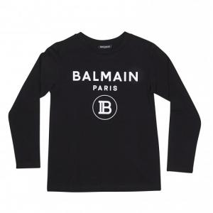 Balmain logo t-shirt long sleeves