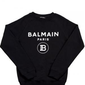 balmain round neck sweater