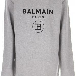 balmain round neck sweatshirt