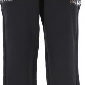 balmain trousers black