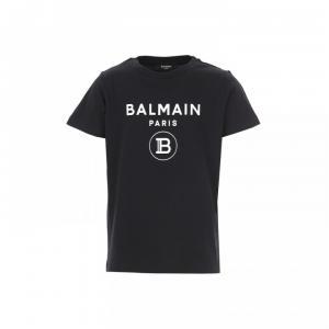 balmain tshirt black logo