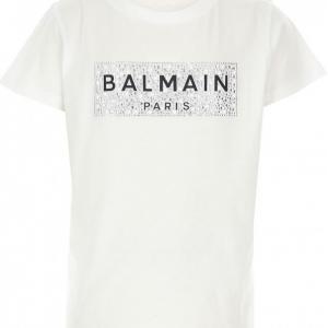 Balmain tshirt strass logo