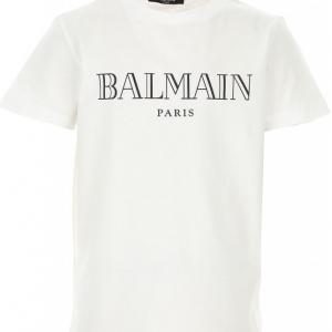 Balmain tshirt white black print