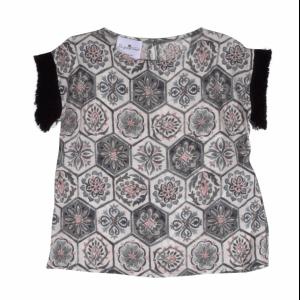 blouse c-neck