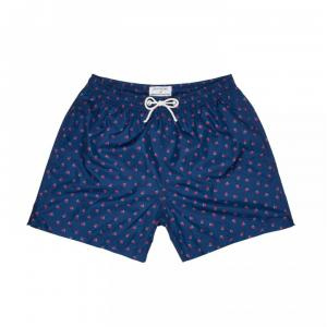bodi boxer blue print strawberry