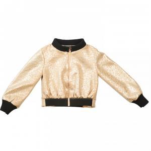 bomber jacket gold
