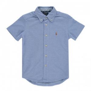 Camicia Oxford in cotone piqué