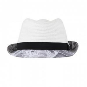 Chervò Cappello donna grigio bianco