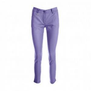 Chervò Pantalone donna viola bianco