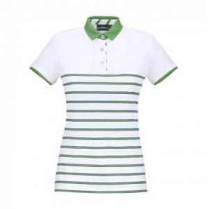 Chervò Polo donna bianco verde