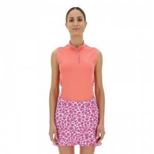 Chervò Polo donna rosa corallo