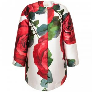 coat with rose