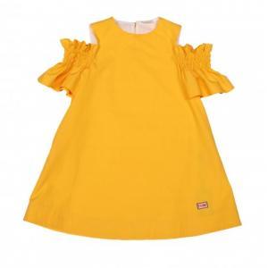 dress in popeline