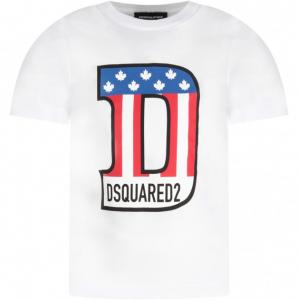 dsquared2 t-shirt flag
