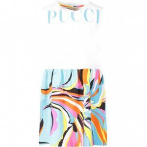 Emilio Pucci sleeveless dress iconic prints