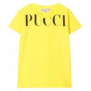 Emilio Pucci t-shirt yellow with logo