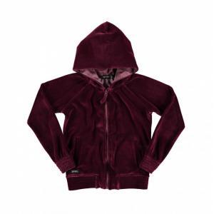 fleece velvet hoodie