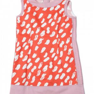 marni dress with white spots