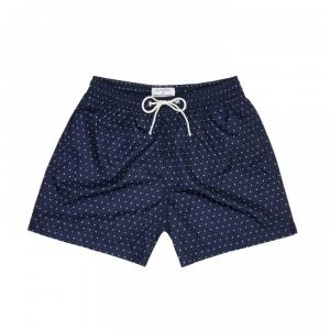 matt boxer dark blue with red heart print