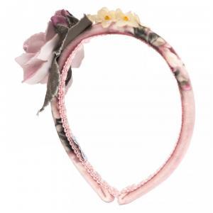 monnalisa headband bouquet