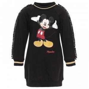 monnalisa sweaterdress micket mouse print