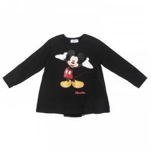 monnalisa t-shirt mickey mouse print