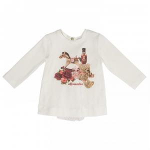monnalisa tshirt bear print