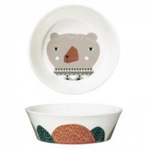 mummy bear bowl- medium