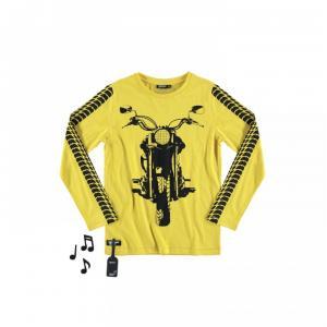 off road bike t-shirt yellows