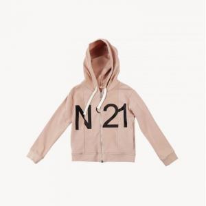 over hoodie with zip