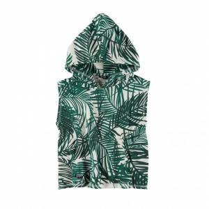 sleeveless hoodie tie