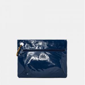 sundek clutch - pochette con moschettone