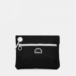 sundek clutch - pochette con moschettone in gomma impermeabile