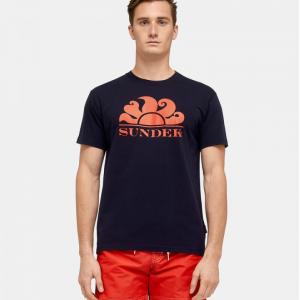 sundek t-shirt girocollo new simeon
