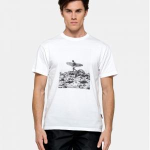 sundek t-shirt girocollo surfer