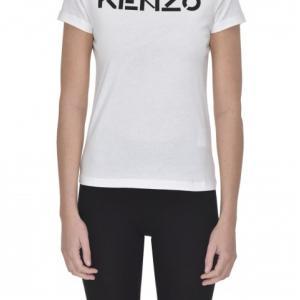 T-shirt con logo frontale