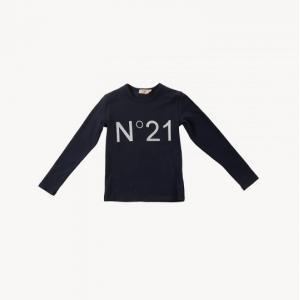 t-shirt n21 logo printed