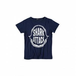 t shirt shark fluor