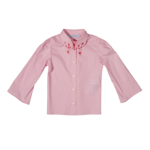 vivetta shirt with calla leaves