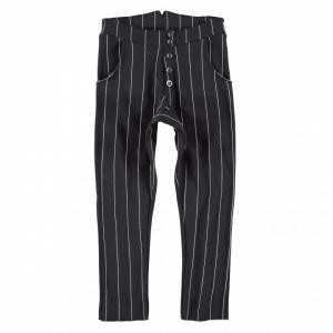 yporque baggy pants pinstripes