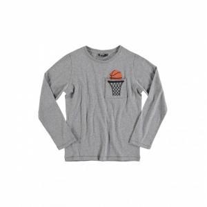 yporque basket pocket t-shirt