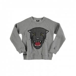 yporque panther pocket sweater