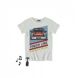 yporque racing car t-shirt